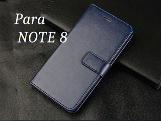 Capa Carteira Flip Galaxy Note 8 Cover Importada Magnética