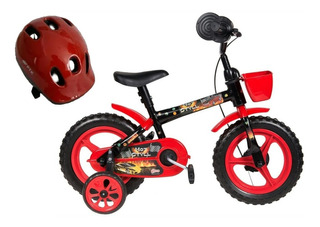 Bicicleta Aro 12 Infantil Hot Still Mais Capacete Infantil