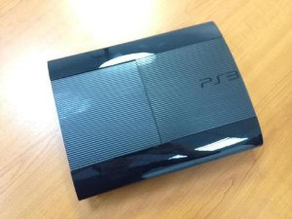 Video Game Ps3 3 Slim 1 Controles 5 Jogos - Seminovo Ótimo