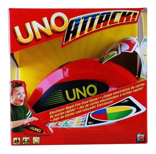 Uno Attack Rapid Fire Jogo De Cartas Para 2-10 jogadores