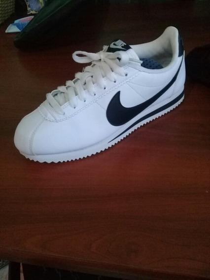 Zapatilla Nike Cortez Blanca Damas