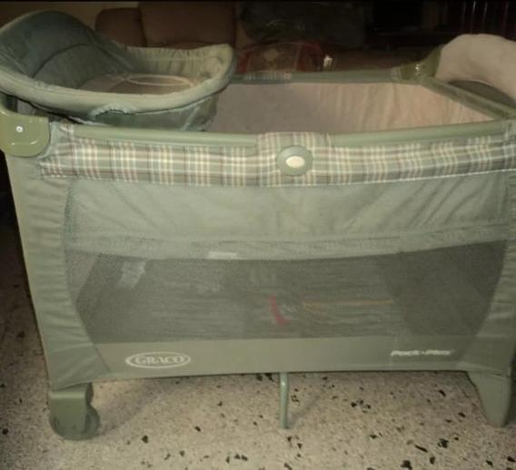 Corral Para Bebe Graco Usado Venta De Garaje 40vds