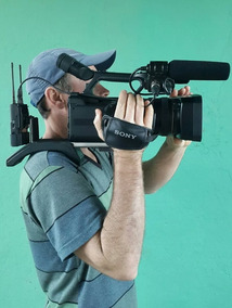 Filmadora Profissional Sony Hxr Nx3 Full Hd Super Conservada