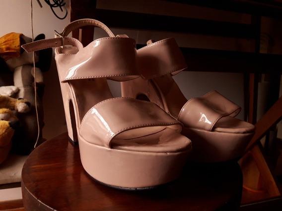 Zapatos Taco Alto.