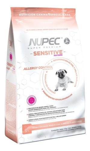 Imagen 1 de 1 de Nupec Sensitive Razas Pequeñas 8 Kg. Nuevo Y Original