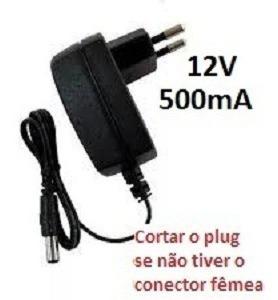 Fonte Dc12v 0.5a