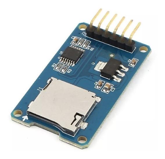 Modulo Lector De Tarjetas Micro Sd Arduino Arm Pic