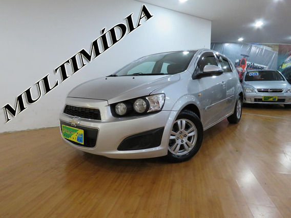 Chevrolet Sonic Hatch 1.6 Lt Flex Aut Completo C/ Multimídia