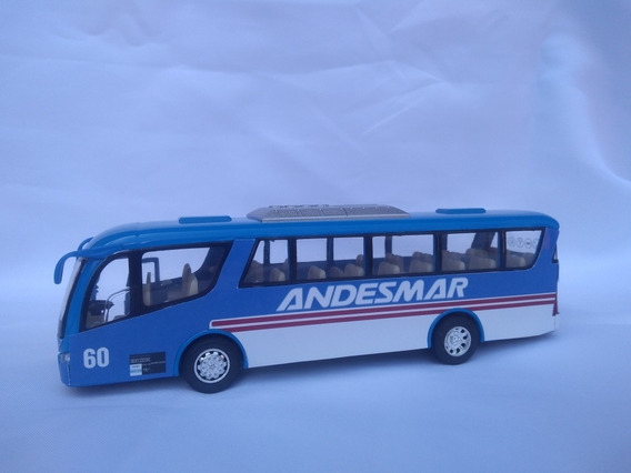 Micro Andesmar Colectivo Bus Metálico 19 Cm Pull Back
