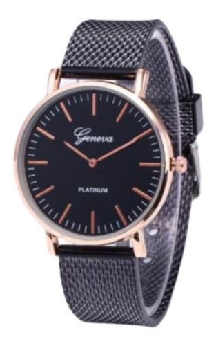 Relógio Feminino Geneva Luxo Analógico Quartz Barato