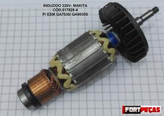 Induzido 220v Comp-ga7030/7030s-makita-cód:517828-4