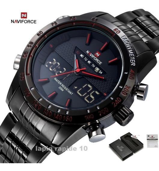 Relógio Masculino Naviforce 9024 Resistente A Água Barato