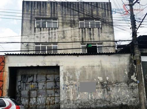 Imagem 1 de 21 de Galpão À Venda, 750 M² Por R$ 1.590.000,00 - Jardim Independência - São Paulo/sp - Ga0087