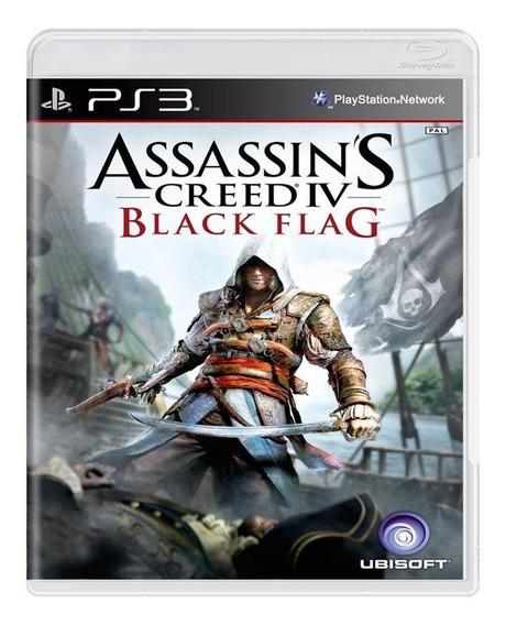 Assassins Creed Iv Black Flag Ps3 Mídia Física