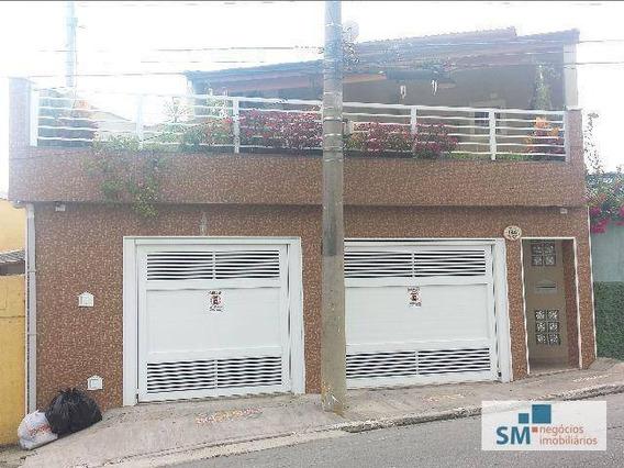 Sobrado Residencial À Venda, Santa Maria, São Caetano Do Sul. - So0167