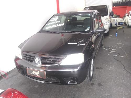 Renault Logan 1.6 Completo 2008 Zero De Entrada