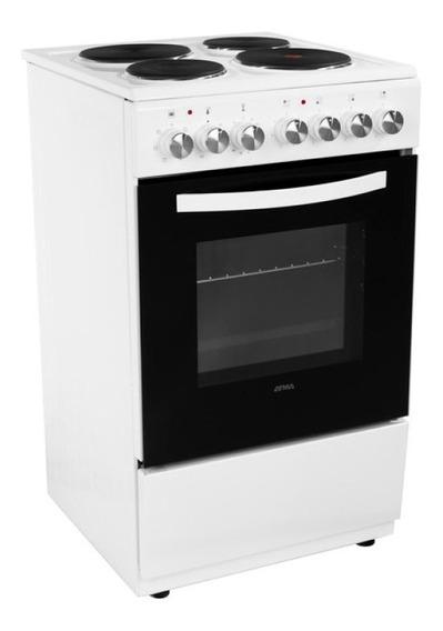 Cocina Eléctrica Atma Cch062b 60 Cm 4 Hornallas Pce