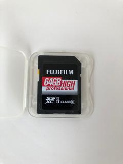 Cartão De Memória Fujifilm 64gb High Professional