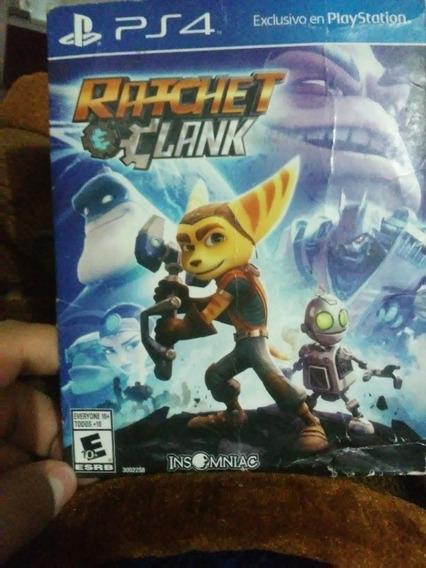 Cd Playstation 4 Ratchet Y Clank