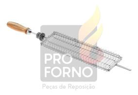 Espeto Grelha P/ Coração E Linguiça Progas