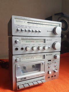 Minicomponente Vintage Hitachi D-m2mk Ii