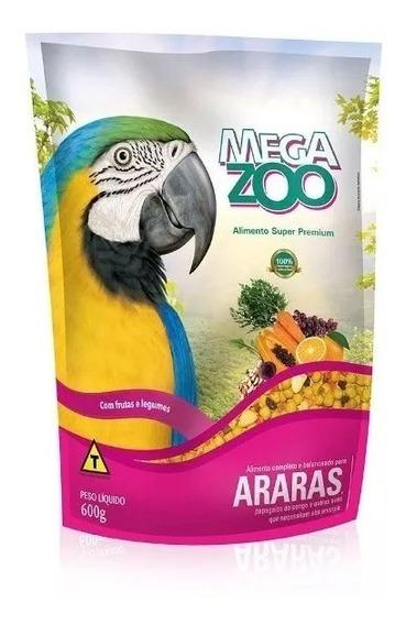 Megazoo Araras Frutas E Legumes 600g