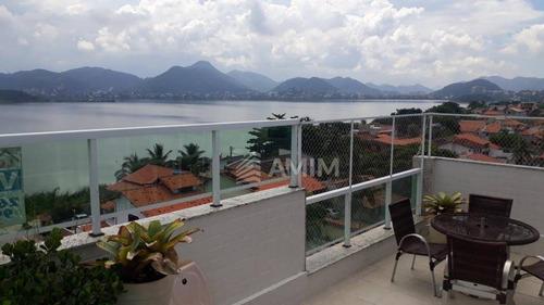 Cobertura Com 3 Dormitórios À Venda, 190 M² Por R$ 1.480.000,00 - Piratininga - Niterói/rj - Co0187