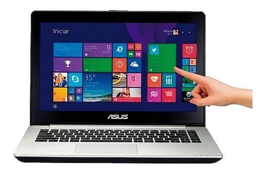 Notebook Asus S451la Intelcore I5 6gb 1tera Touchscreen