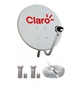 Antena Parabolica 60 Cm Banda Ku Sky Kit Completo