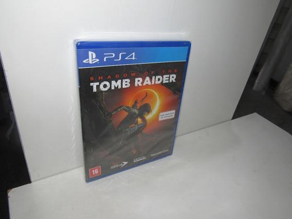 Shadow Of The Tomb Raider Ps4 Mídia Física Novo Lacrado