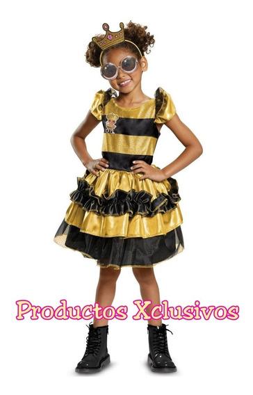 Lol Surprise Disfraz Queen Bee Original Americano Talla 4-6