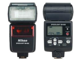 Flash Nikon Sb600 Excelente Estado Para Camera Dslr Nikon