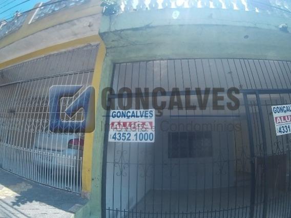 Locação Casa Terrea Sao Bernardo Do Campo Jardim Thelma Ref: - 1033-2-31453