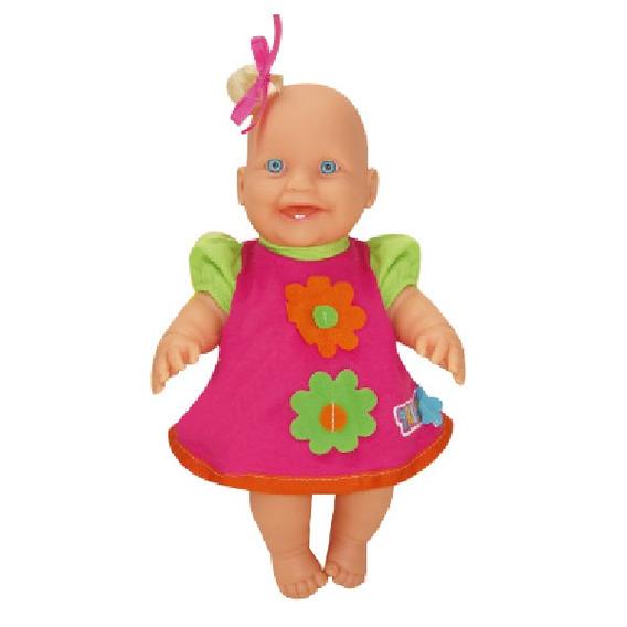 Boneca De Brinquedo Bebe Branca Fazendinha Pomar Zap 1017