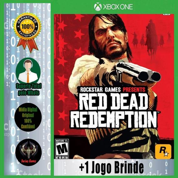 Red Dead Redemption Xbox One Mídia Digital +1 Jogo Brinde