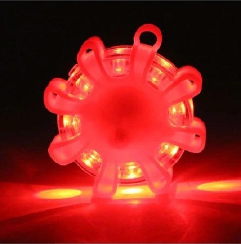 Luz Led De Emergencia Para Coche Linterna Intermitente