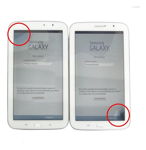 Tablet Samsung Galaxy Note 8.0 16gb Tela 8 Com Mancha