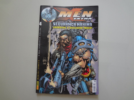 Revista X Men Extra Nº 4 Abril/2002