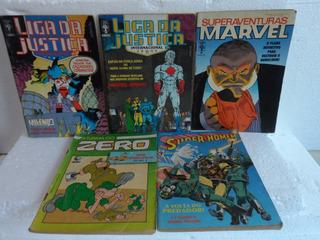Lote Hq, X-men, Marvel, Liga Justiça , Zero