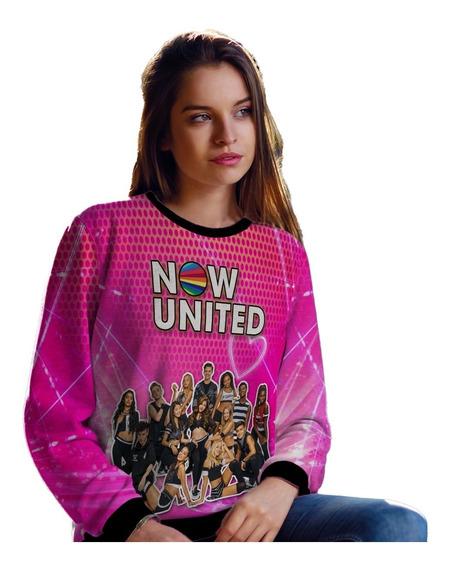 Moletom Now United Masculino Feminino Mod 0002