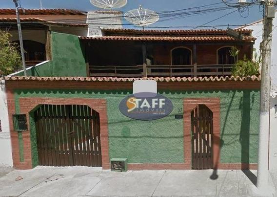 Casa Com 04 Dormitórios Para Aluguel Fixo, 150 M² - Bairro Braga - Cabo Frio/rj - Ca0901