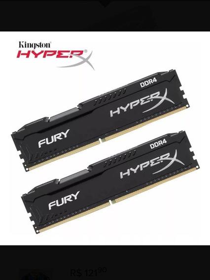 Memória Hiperx 16gb (2x8) 2400 Mhz
