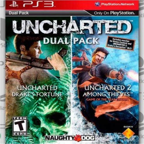 Uncharted Dual Pack Ps3 Via Psn Original
