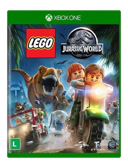 Lego Jurassic World Xbox One Mídia Física Pronta Entrega