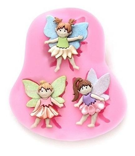 Elinka 3 Pequeño Hada Asistente Angel Caramelo De Silicona C