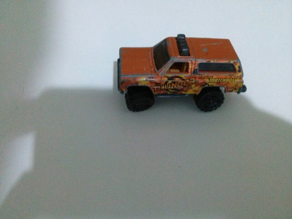 Matchbox Chevy Blazer 1989 Thunder Escala 1/64