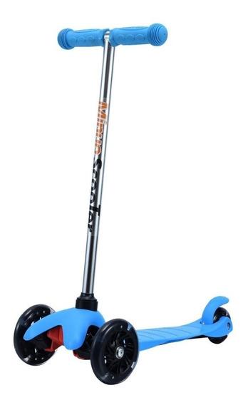 Monopatin Aluminio Scooter Love 7800 Freno 3ruedas 3 Alturas