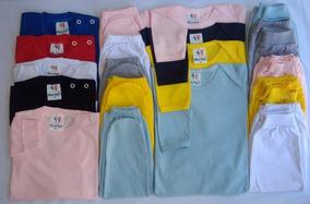 Kit C/ 20 Body + Mijão+ Camiseta Bebê -unissex-longo