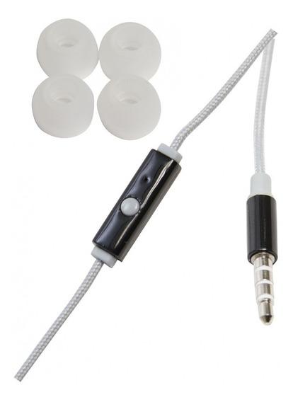 Fone De Ouvido Auricular C/ Microfone No Cabo