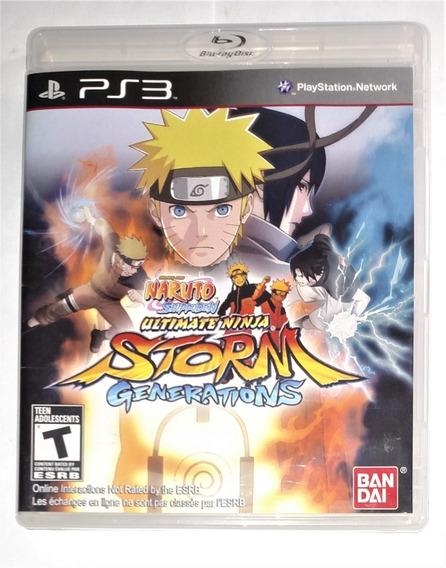 Naruto Shippuden: Ultimate Ninja Storm Generations Ps3